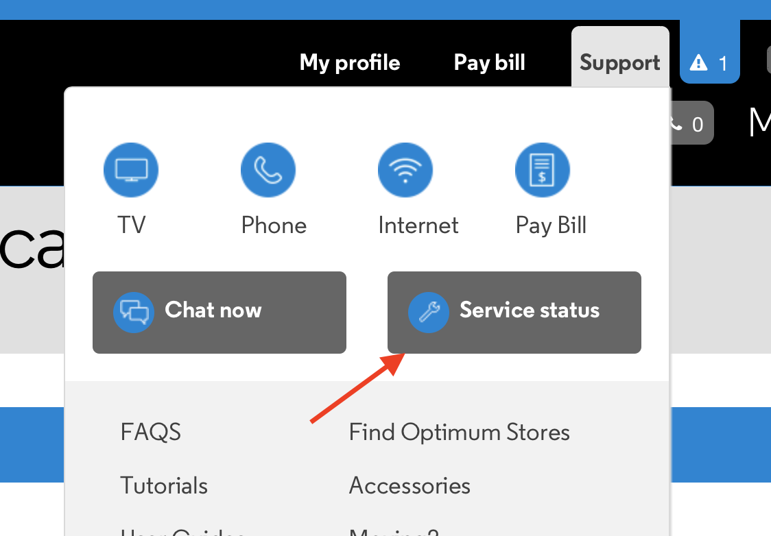 How do I get support for internet Cablevision Optimum Altice in the Hamptons ?
